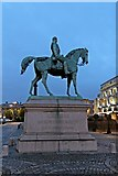 SJ3490 : Prince Albert Statue, Lime Street, Liverpool by El Pollock