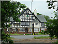 SO8468 : The Mitre Oak near Crossway Green, Worcestershire by Roger  Kidd