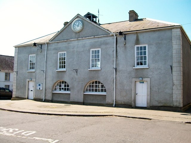 Market House on the Square at Portaferry