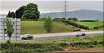 J2965 : The M1, Tullynacross near Lisburn (1) by Albert Bridge