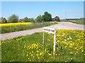 SU4096 : Swannybrook Farm Sign by Des Blenkinsopp