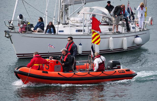 Yacht and RIB, Bangor