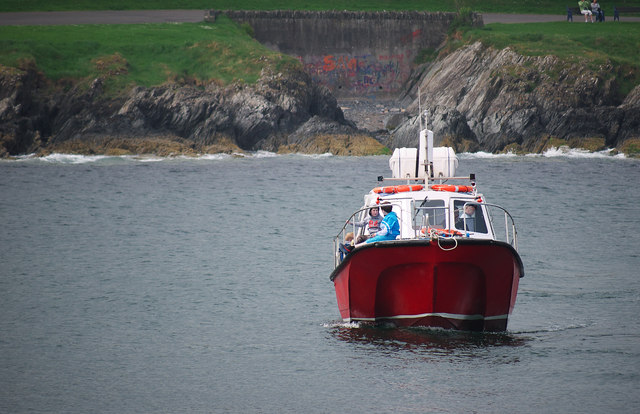 The 'Ocean Crest' at Bangor