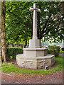 SJ6899 : War Memorial, Leigh Cemetery by David Dixon