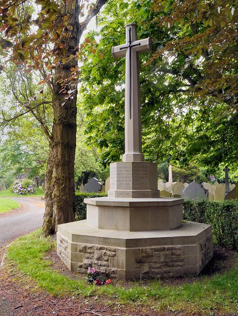 Leigh Cemetery War Memorial (Cross of Sacrifice)