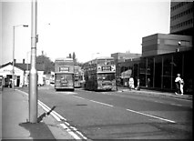 TQ3266 : West Croydon:  Buses at the bus station by Dr Neil Clifton