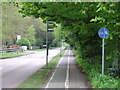 SP9412 : Shared path, Tring by Malc McDonald