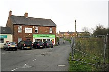 NY4756 : Shops, Warwick Bridge by Rose and Trev Clough