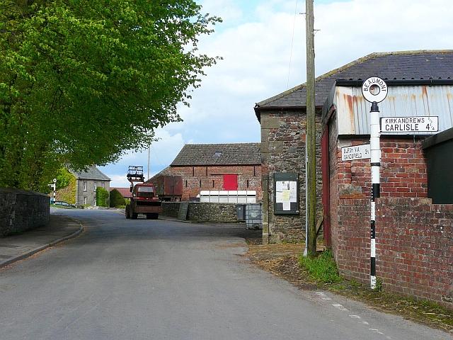 Beaumont, village scene