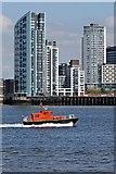SJ3290 : Liverpool Pilot, Petrel, River Mersey by El Pollock