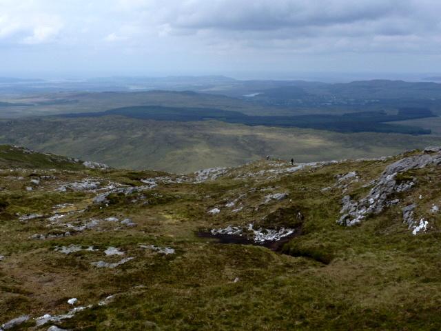 North shoulder of Carnaween