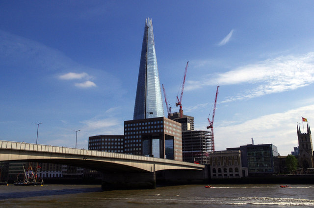 London - London Bridge and the Shard