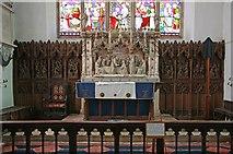 TL9568 : St George, Stowlangtoft - Sanctuary by John Salmon