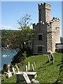 SX8850 : Castle Tearooms, Dartmouth by Derek Harper