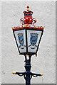 NT5585 : An ornamental lamp at North Berwick by Walter Baxter