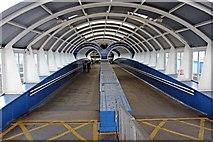 SJ3290 : Landing Stage Ramp, Seacombe Ferry by El Pollock