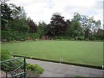 NS5579 : Strathblane Bowling Club by Richard Webb