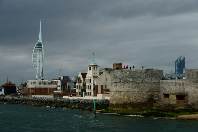 Entering Portsmouth Harbour