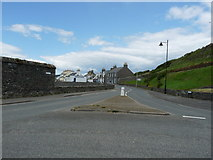 NX3343 : Main Street, Port William by Billy McCrorie