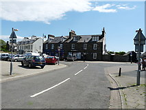 NX3343 : Harbour Road, Port William by Billy McCrorie