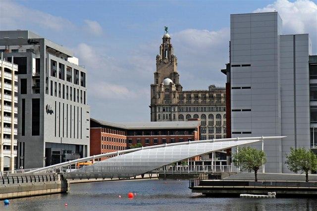 Footbridge, Princes Dock, Liverpool