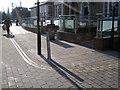 SP2054 : Tactile paving, Southern Lane/Chapel Lane by Robin Stott
