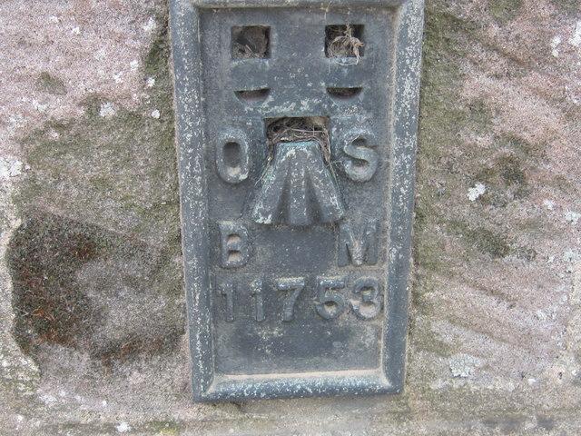 Ordnance Survey  Flush Bracket 11753