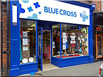 SU7682 : Blue Cross Charity Shop, Duke Street, Henley on Thames by Roger A Smith