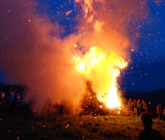 Beacon ablaze!