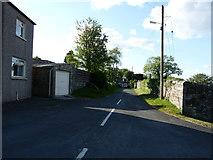 NX4355 : Church Lane by Billy McCrorie