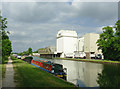 SO7408 : Canal and flour mill near Frampton on Severn, Gloucestershire by Roger  Kidd
