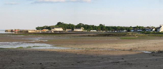 Garlieston from the bay
