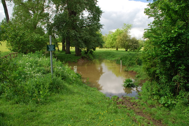 Bridleway ford at Tidmington