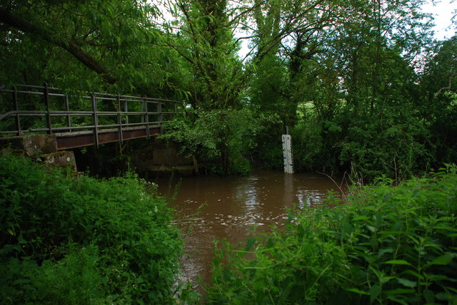 Bridleway Ford at Hoo Mill