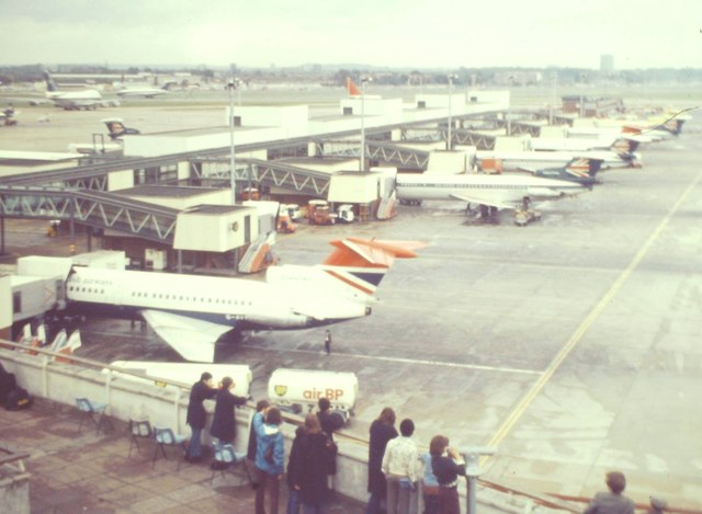 Heathrow Airport, 1975