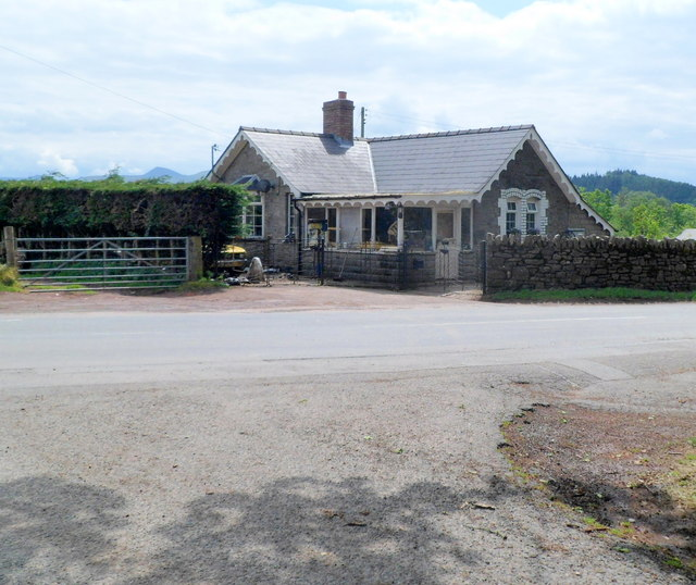 Former Middle Lodge, Cradoc