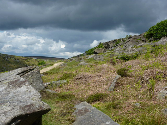 View towards Upper Burbage Bridge