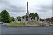 SJ3384 : Port Sunlight War Memorial by David Dixon