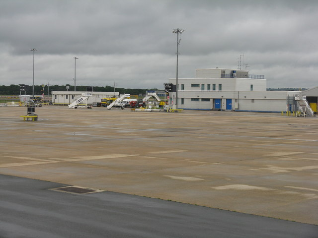 Airfield buildings at Gatwick