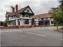 SJ3384 : The Bridge Inn by David Dixon