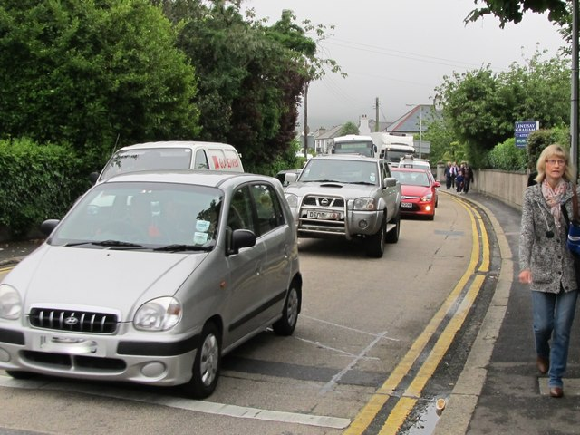 Traffic on Shimna Road delayed by the Olympic Relay Run