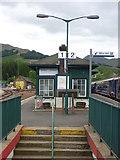 NN3825 : On The West Highland Line : Crianlarich Station by Richard West