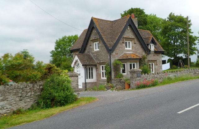 Grade II listed Upper Moor Lodge