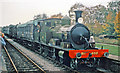 TQ3729 : Ex-LSWR Adams 4-4-2T No. 488 on Bluebell Railway at Horsted Keynes station by Ben Brooksbank