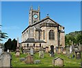 NS4673 : Old Kilpatrick Parish Church by Lairich Rig