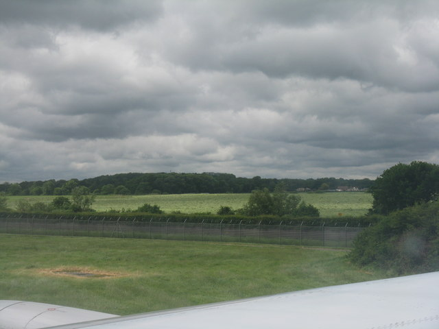 Fields near Gatwick Airport