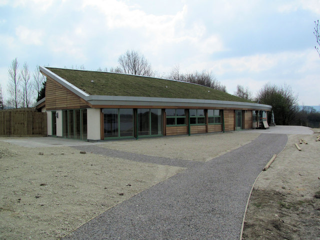 The Visitor Centre, College Lake, near Tring (April 2010)