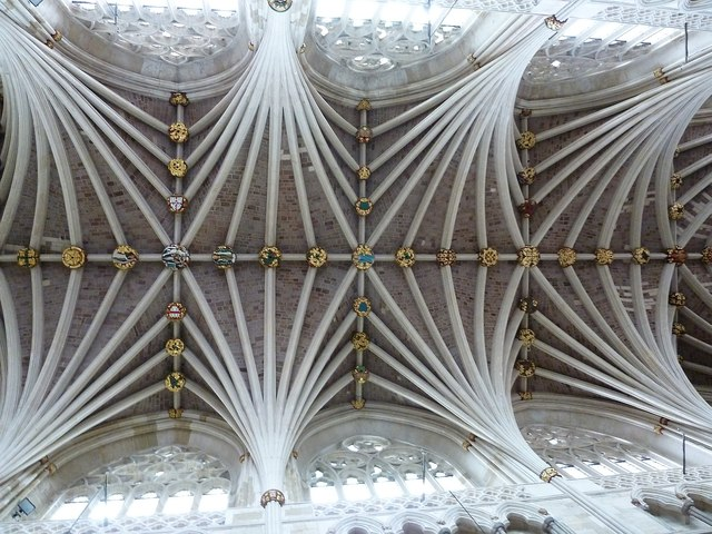 Palm vaulted roof, Exeter Cathedral