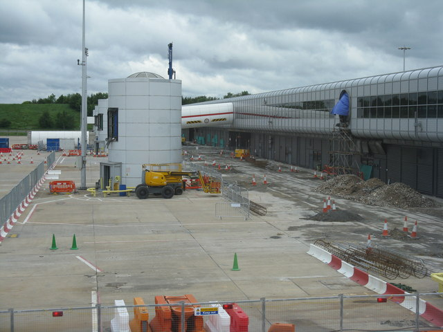 Building work at Gatwick