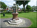 TQ3068 : Drinking fountain at Pollards Hill by Marathon